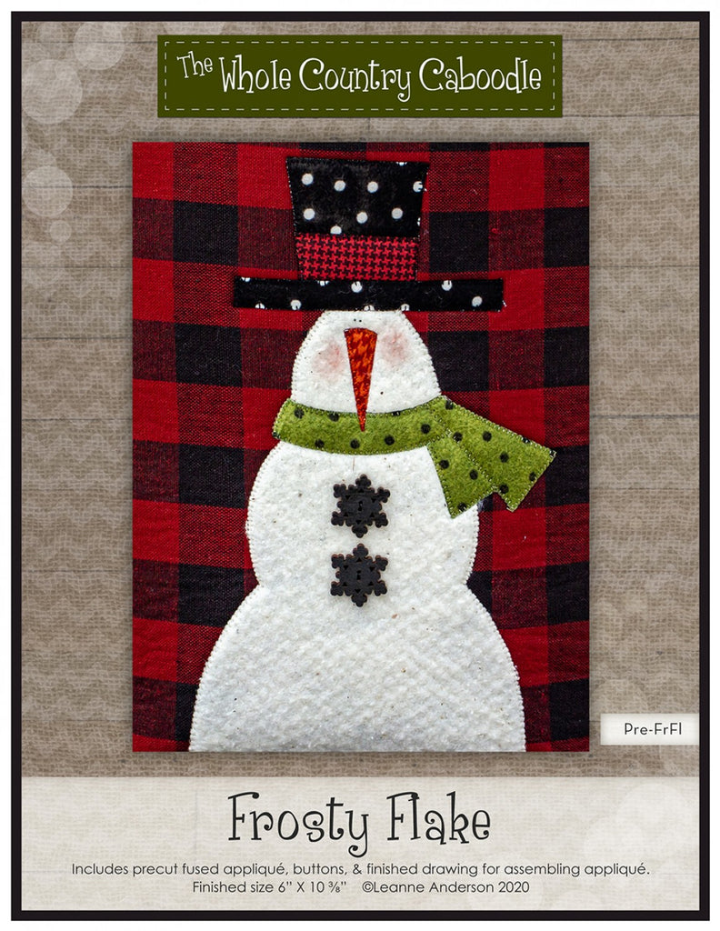 Frosty Flake Precut Fused Applique Pack
