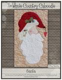 Santa Precut Fused Applique Pack