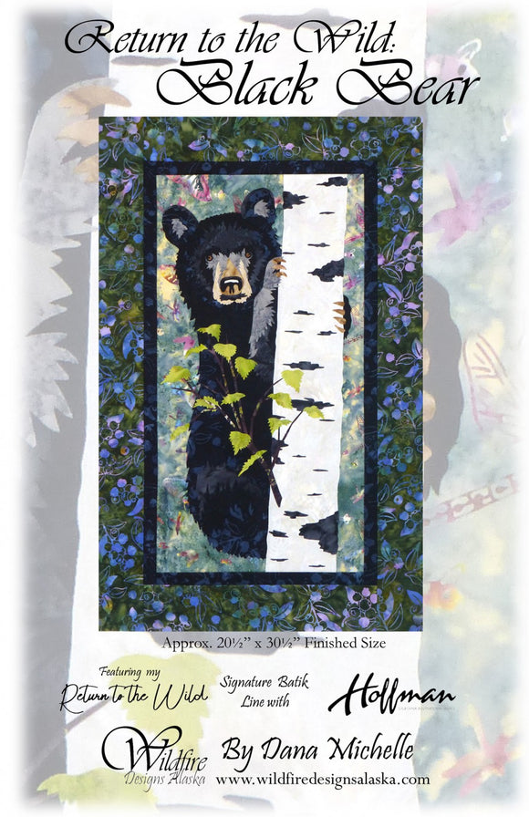 Return to the Wild: Black Bear Pattern