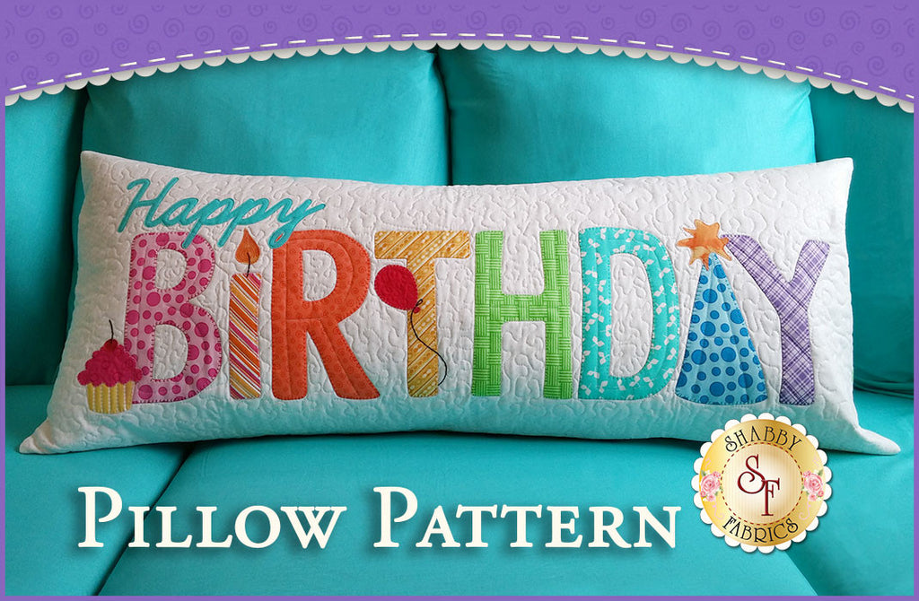 Happy Birthday Pillow