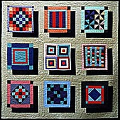Floating Amish Quilt Pattern