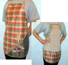 Pockets-a-Plenty Reversible Apron Pattern