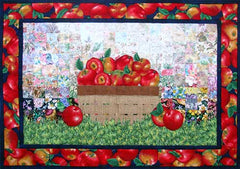 """An Apple A Day"" Watercolor Quilt Kit"