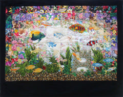 """Aquarium"" Watercolor Quilt Kit"