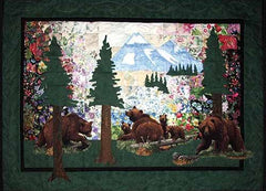 Bear Country Watercolor Quilt Kit