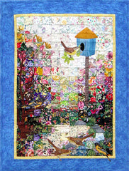 """Birdhouse"" Watercolor Quilt Kit"