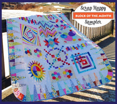 Scrap Happy Sampler - Block Of The Month