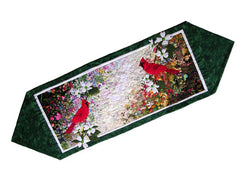 """Cardinal"" Watercolor Table Runner Kit"