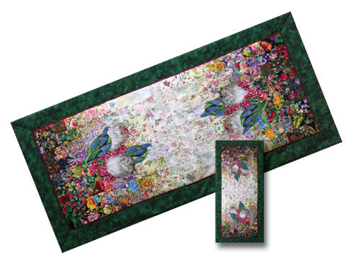 'Cat Mat' Watercolor Quilt Kit