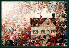 """Cat On Roof"" Watercolor Quilt Kit"