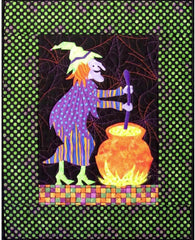Crystal Witch Quilt Pattern