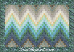 Swells Quilt Pattern