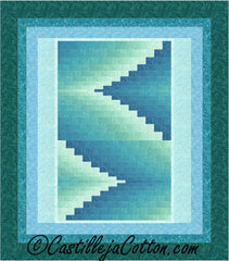 Double Darts Queen Quilt Pattern