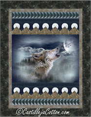 Moon Wolf Quilt Pattern