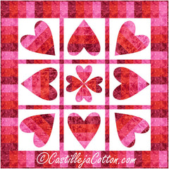 Pivoting Hearts Quilt Pattern
