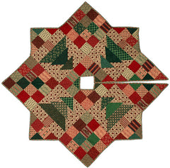 Christmas Patch Tree Skirt 2