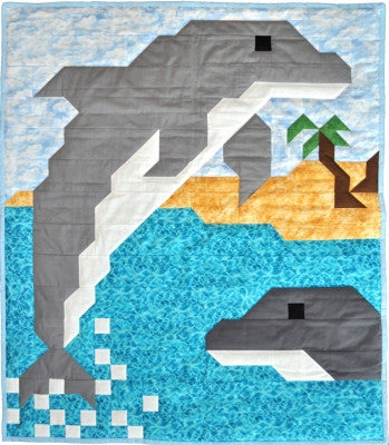 Dolphin Quilt Pattern