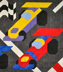 Race Cars Quilt Pattern