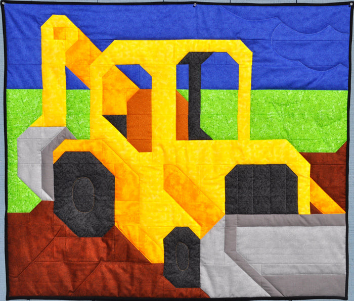 Backhoe Quilt Pattern