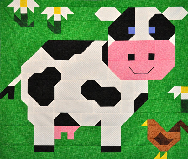Cow Quilt Pattern