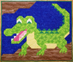 Alligator Quilt Pattern