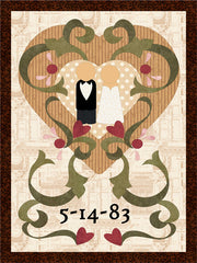 Wedding Sampler Quilt Pattern