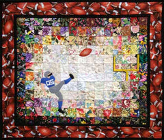 """Field Goal"" Watercolor Quilt Kit"
