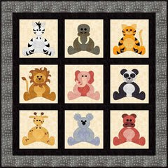 Zoo Babies Quilt Pattern