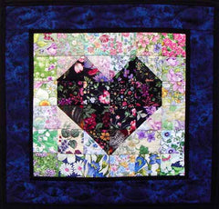 """Heart of Mine "" Watercolor Quilt Kit"