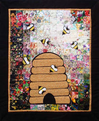 """Honey, I'm Home"" Watercolor Quilt Kit"