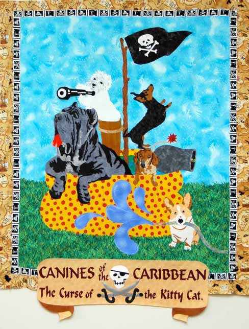 Canines Of The Caribbean, The Curse of the Kitty Cat