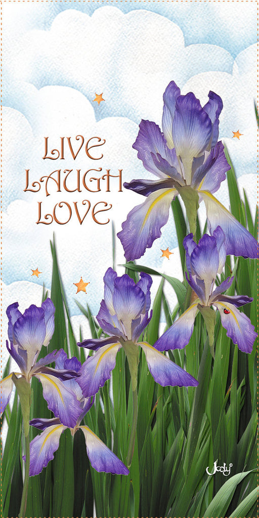 Live, Laugh, Love - Iris