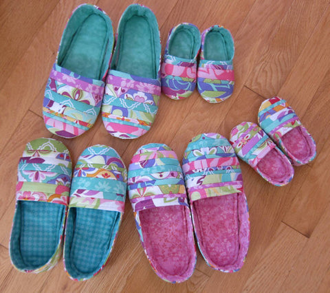 Mommy \u0026 Me Slippers – Quilting Books