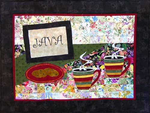"""Java"" Watercolor Quilt Kit"
