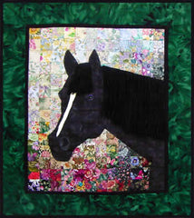 """Jenna's Horse"" Watercolor Quilt Kit"