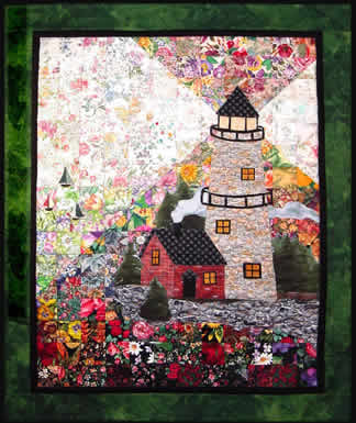 """Lighthouse"" Watercolor Quilt Kit"
