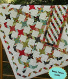 Twisting With The Stars Quilt and Table Runner