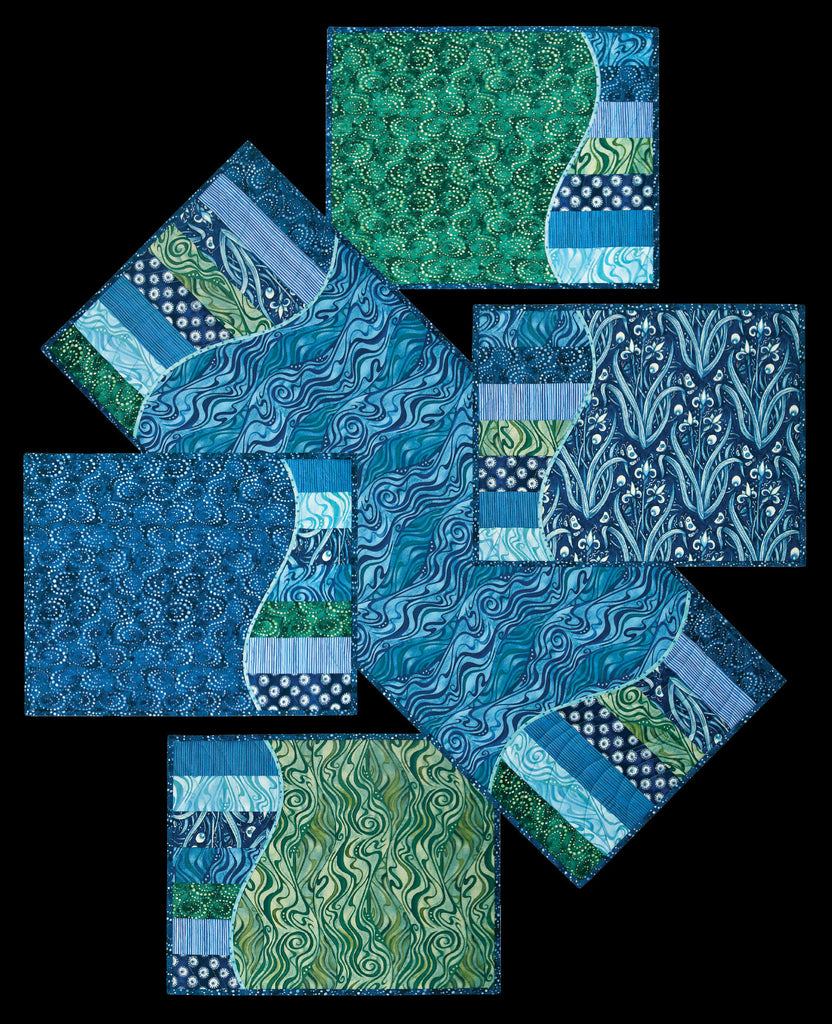 Making Waves Tablerunner Amp Placemats