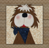 Mutt Dog Precut Applique