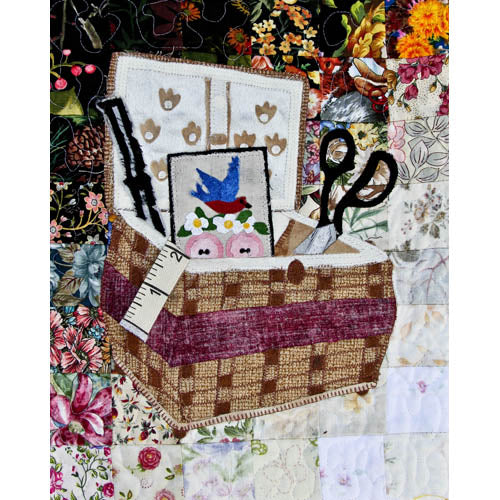 """Rachel's Sewing Room"" Block #1: Nana's Sewing Basket"