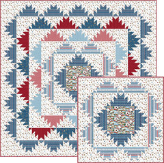 Skier's Paradise Quilt Pattern