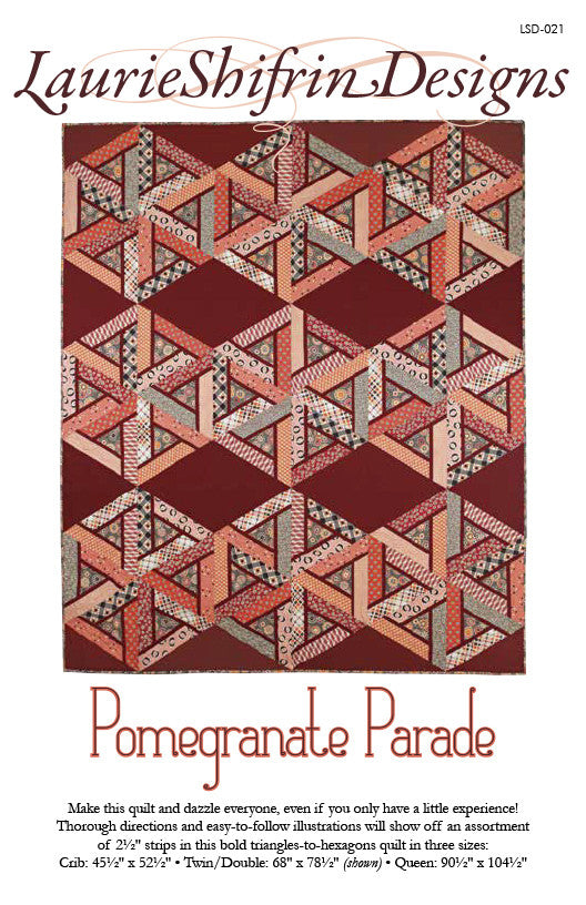 Pomegranate Parade Quilt Pattern