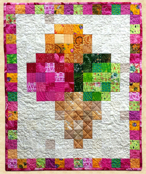 August Ice Cream Cone Quilt Pattern