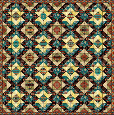 Stars Over Arizona Quilt Pattern