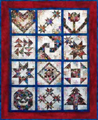 """Sampler"" Watercolor Quilt Kit"