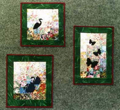 """Silhouettes On The Pond"" Watercolor Quilt Kit"