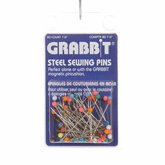 Steel Pin for Grabbits Size 28 - 1 1/2in 80ct