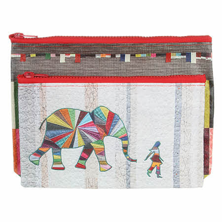 Elephant and I Eco Pouch Set