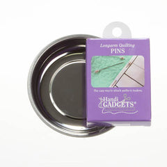 Handy Helpers 4in Magnetic Pin Bowl with Bonus Box of Pins