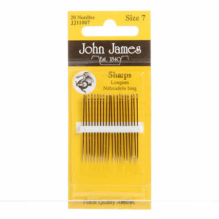 John James Sharps Needles Size 7